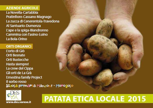 Patata Etica 2015, cartolina