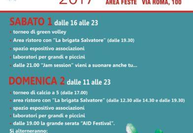 1-2 luglio 2017 – Casorate Aid Festival per Revolutionary road #oltrelacrisi