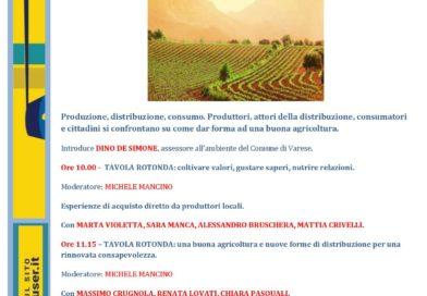 La buona agricoltura – 7 ottobre a Villa Recalcati a Varese